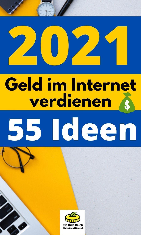 internet geld verdienen 2021