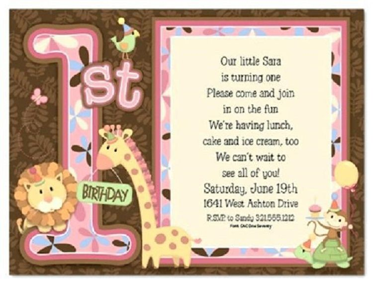 First Birthday Invitation Card Matter In Hindi Buick