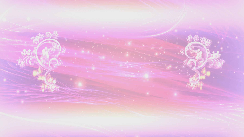 4k Pink Floral Thread Of Lights Title Intro Motion Background Latar Belakang Poster Bunga Gambar