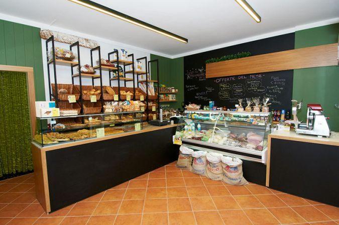 Arredamento negozi alimentari panetteria retail design