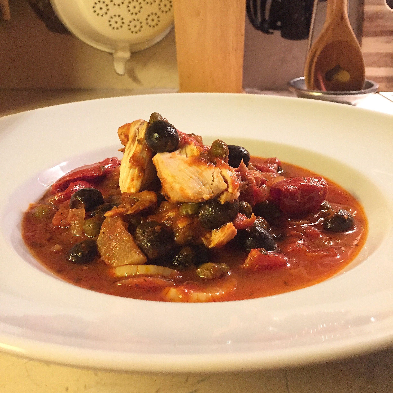 Mediterranes Ofenhuhn aus dem Schmortopf! Cucina italiana at it\'s ...