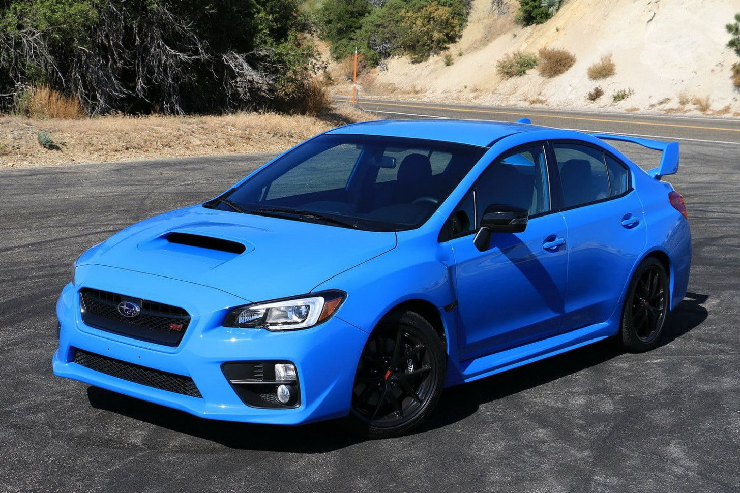 2020 Wrx Sti Hyperblue Model