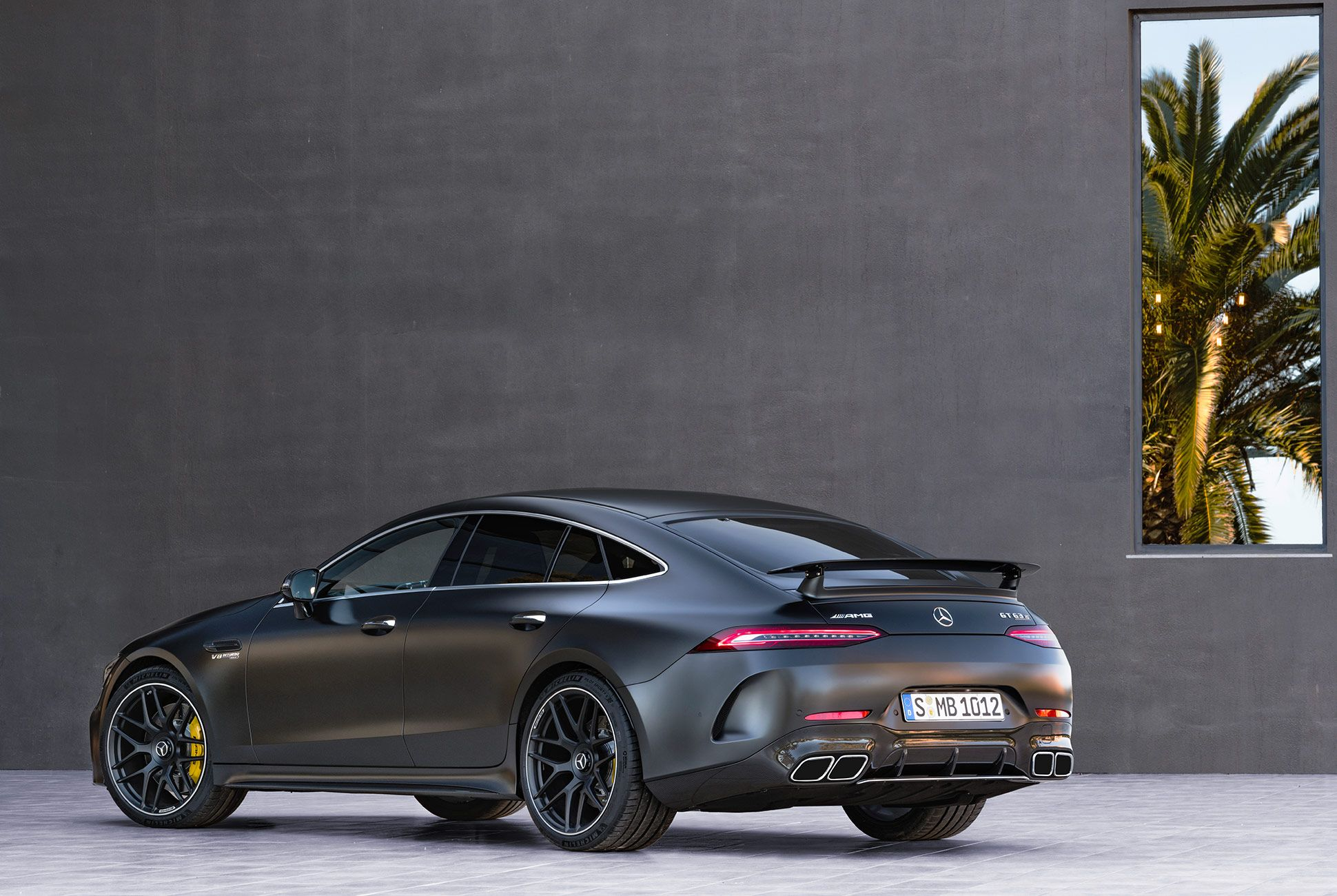 Mercedes Amg Gt 4 Door Coupe Photo Courtesy Of Mercedes Benz