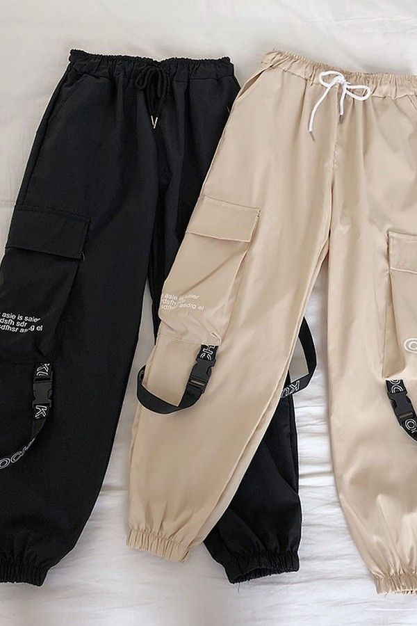 Hip Hop Streetwear Women Cargo Pants