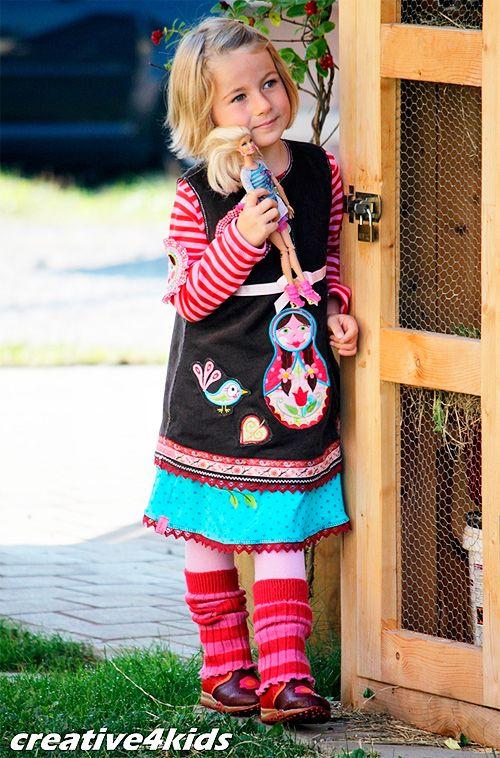 ARWEN Schnittmuster Kleid Mädchen farbenmix | To do nähen ...