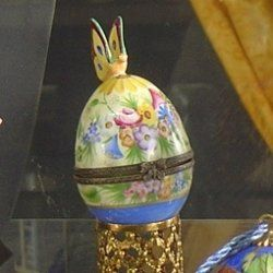 Limoges porcelain easter eggs by celebrate contributor limoges porcelain easter eggs make perfect gifts for easter they are pretty authentic porcelain boxes in the shape of an egg beautifully decorated negle Gallery