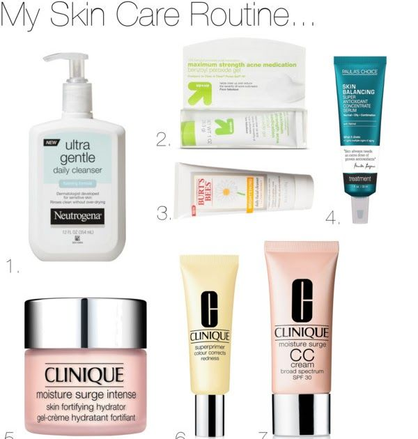 My Skin Care Routine With Images Simple Skincare Routine