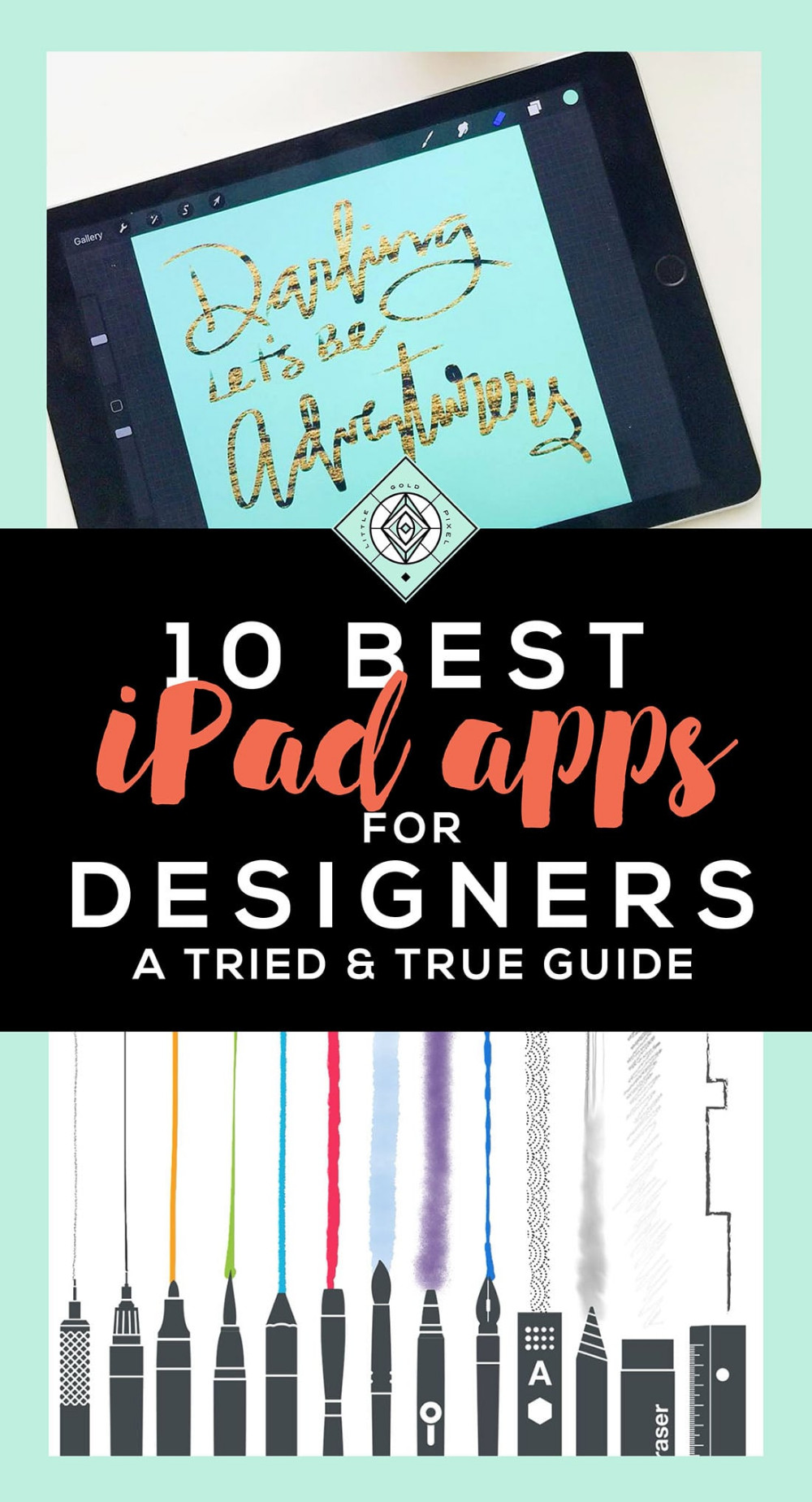 10 Best iPad Apps for Designers • Little Gold Pixel Best