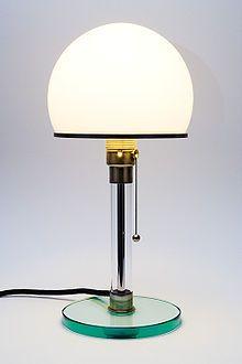 Wagenfeld Table Lamp WG 24, 1924   Wagenfeld lampe, Bauhaus