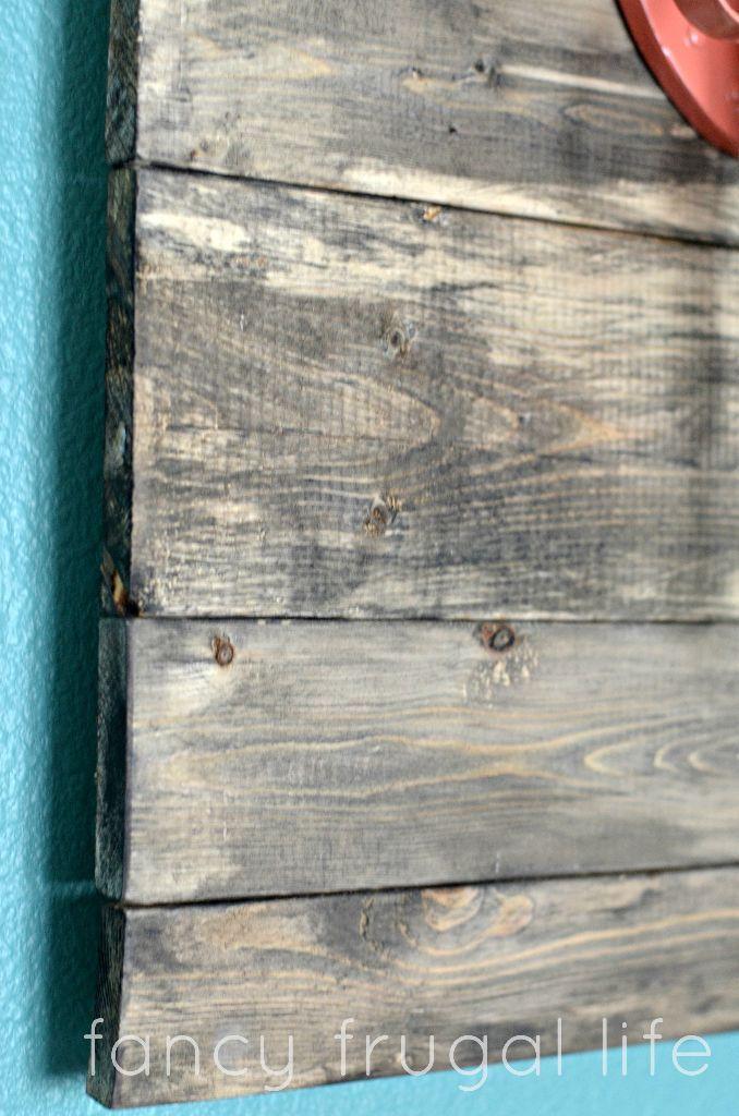 How To Make Faux Barn Wood Barnwood Wall Art Aging Wood Wood