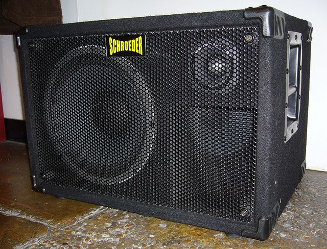 My old cab: Schroeder 1212L. 1000-watt 2x12, 4ohms, US-made, 42lbs ...