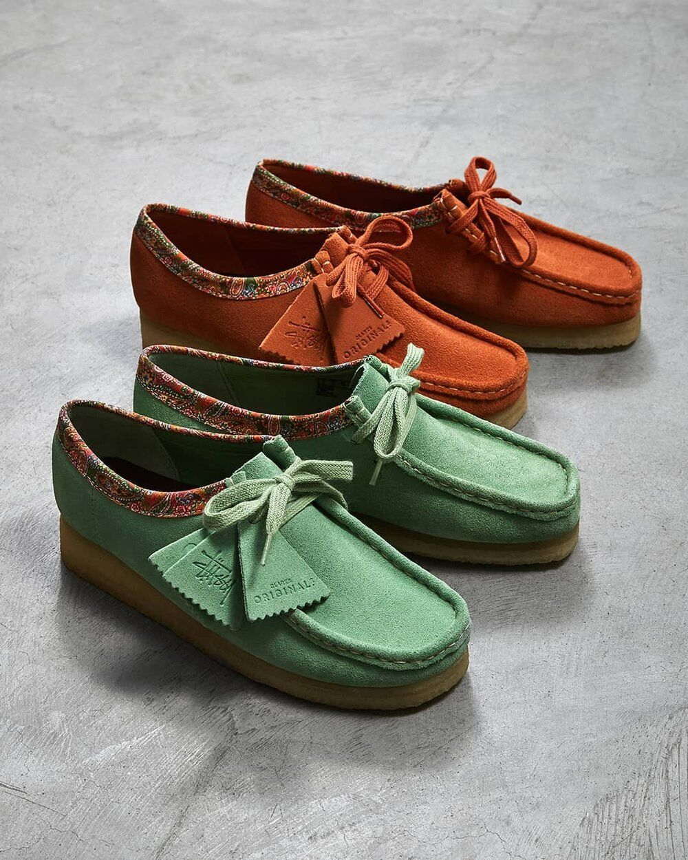 Clarks wallabees outfit