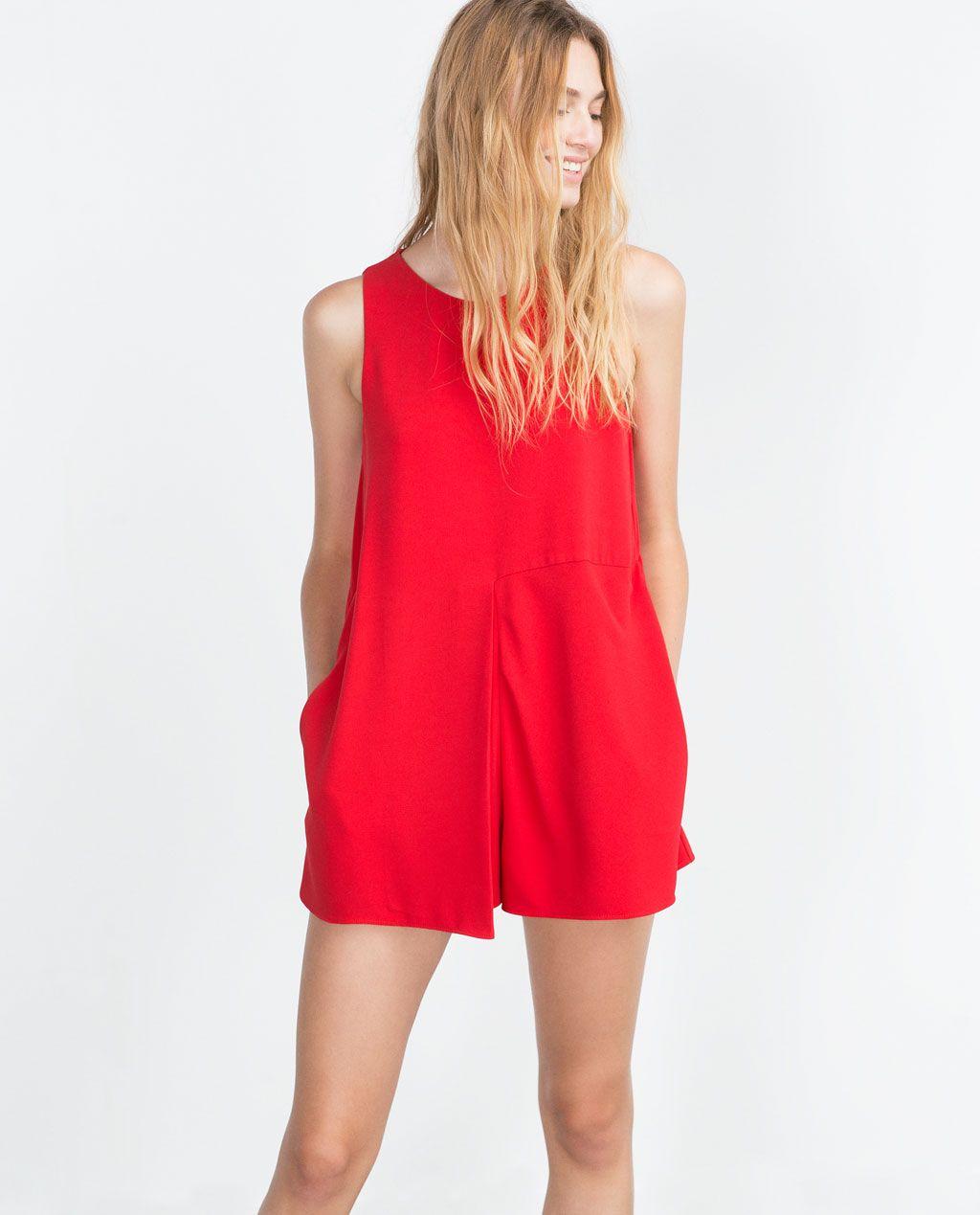 front pleat jumpsuit - jumpsuits - woman | overall damen