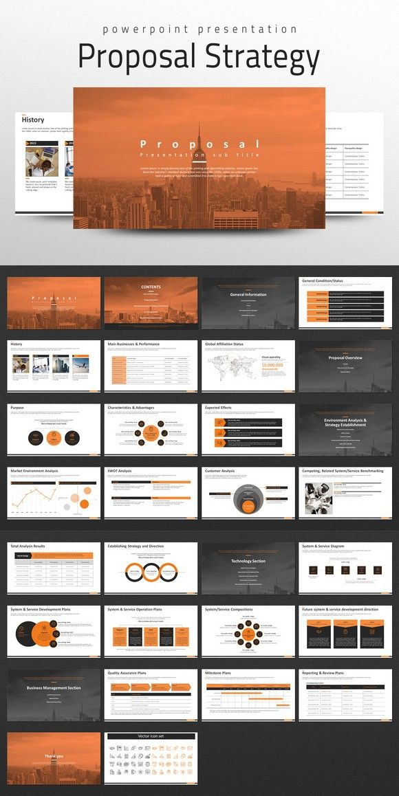 Proposal Powerpoint Strategy Powerpoint Templates 4300