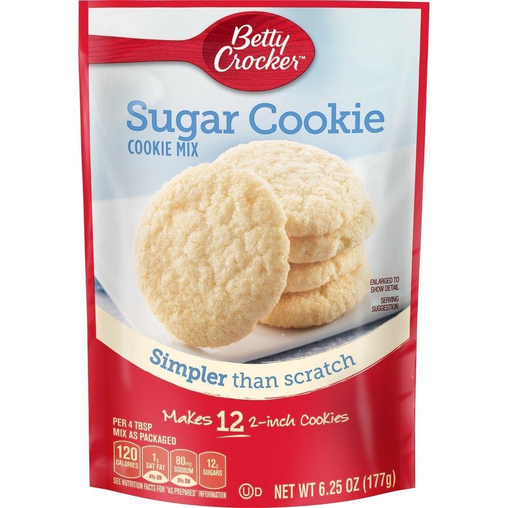Betty Crocker Sugar Cookie Mix 6 25oz Desserts Betty Crocker