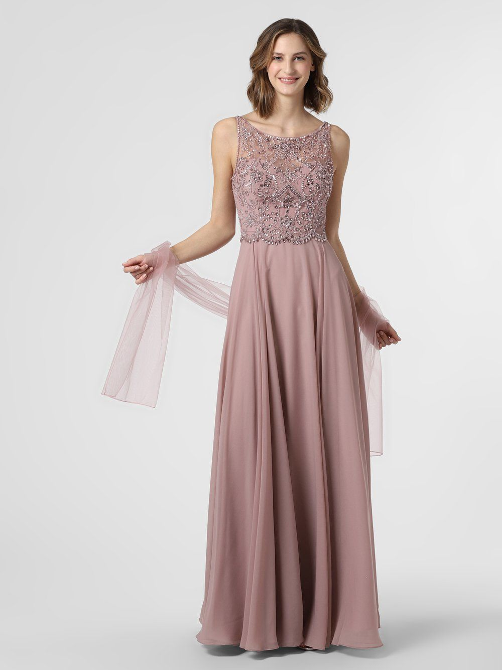 Luxuar Fashion Damen Abendkleid mit Stola online kaufen in ...