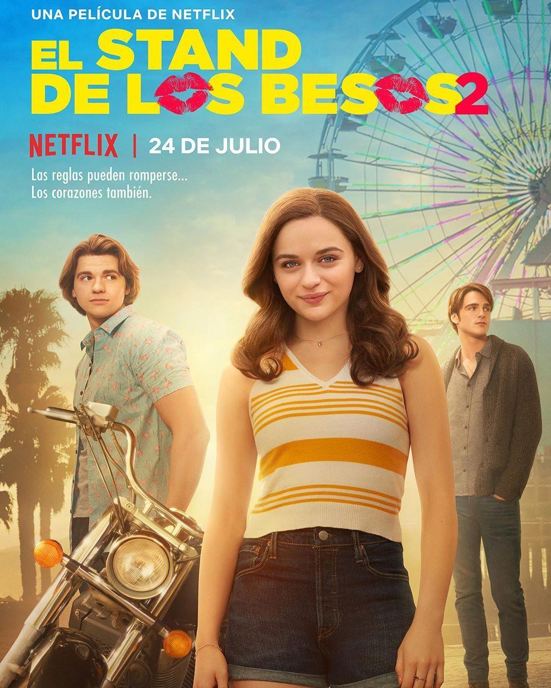 791 8 Mil Curtidas 20 6 Mil Comentarios Netflix Latinoamerica Netflixlat No Instagram El Stand De Los Beso In 2020 Kissing Booth Romantic Movies Joey King