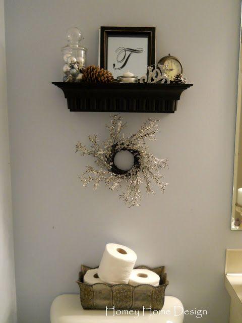 Homey Home Design Christmas Half Bathroom Decor Half Bath Decor Small Half Bathrooms
