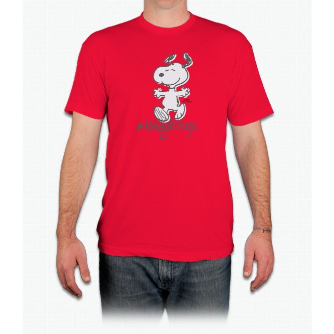 Snoopy Beagle Hugs - Men T-Shirt