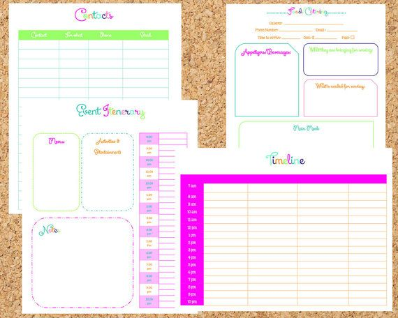 INSTANT DOWNLOAD 17 Pdf Documents-The by OrganizedWhimsy on Etsy