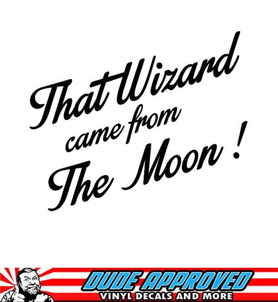 That Wizard Came From The Moon Bungie Destiny Game Sticker Decal Destiny Game Destiny Bungie Destiny