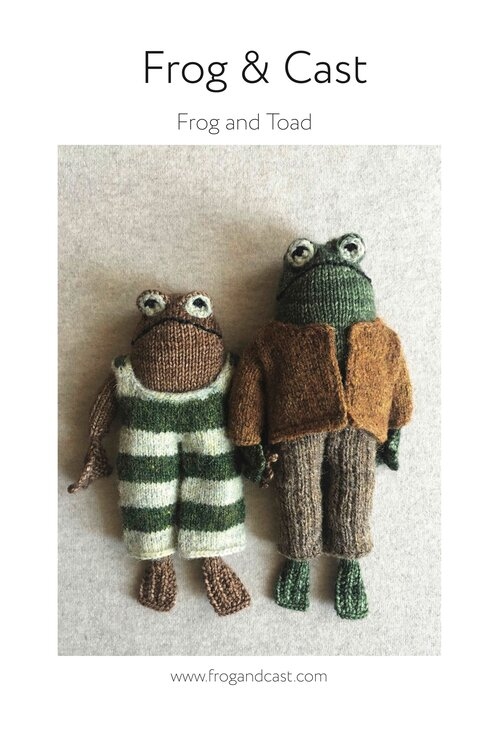 Photo of Frog and Toad Pattern Download — Frog & Cast