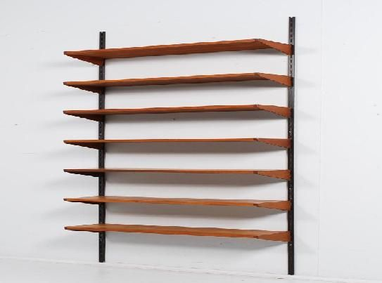 Wall Shelving Systems Wood Industrial Living Room Shelving Wall