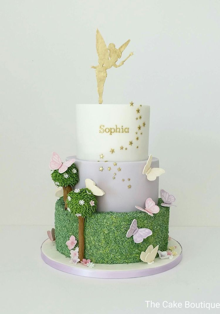 Fairy Butterflies Enchanted Forest Woodland Cake Cakes Cupcakes
