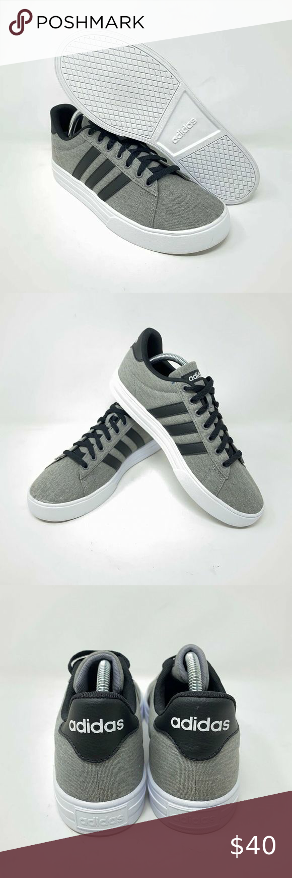 ADIDAS Daily 2.0 F36629 Gray Sneakers