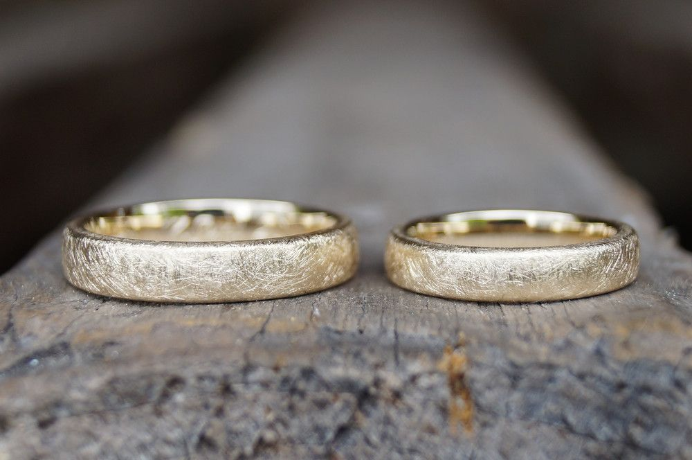 Anillos de boda ° Nosotros dos ° oro amarillo