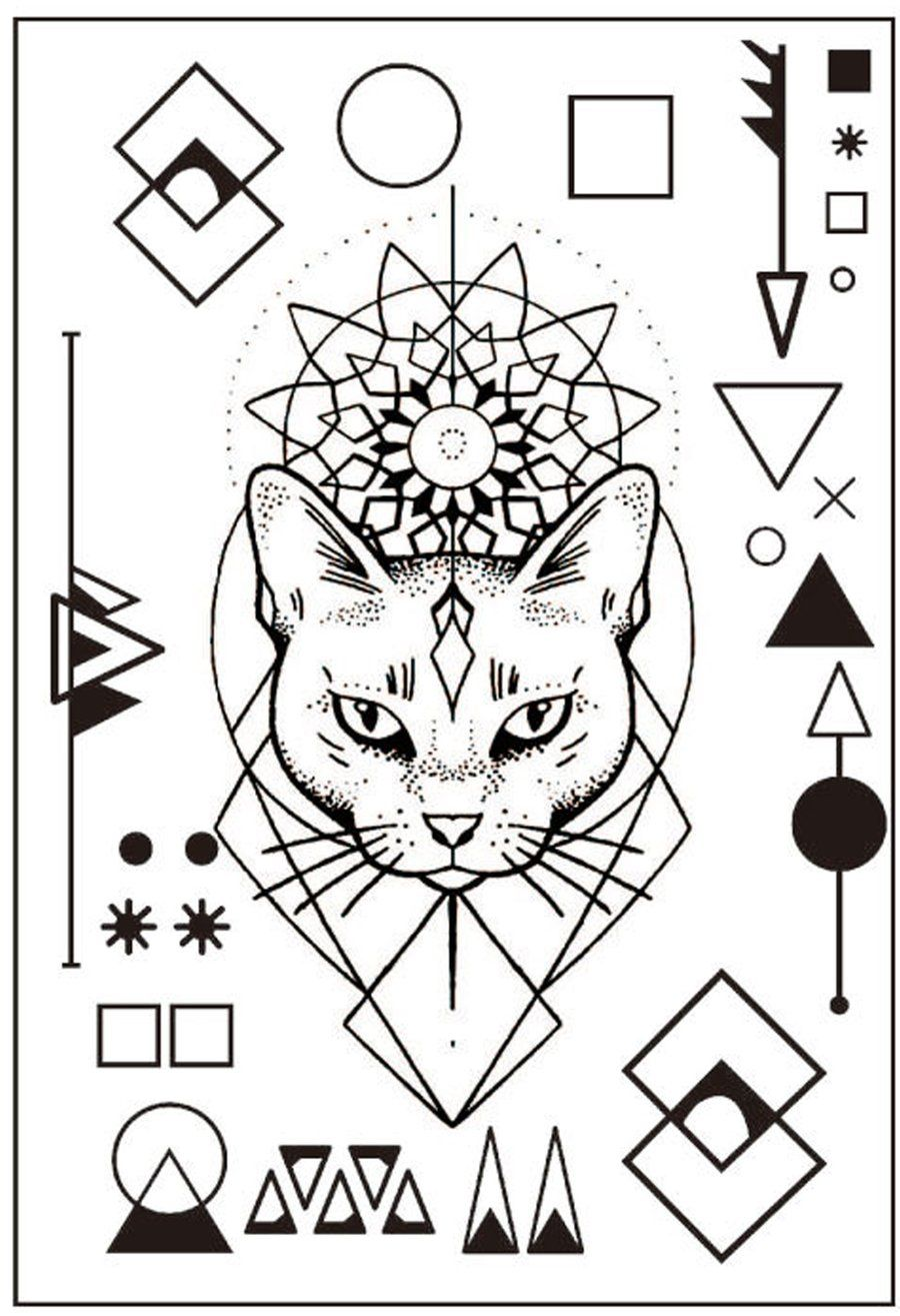 Product Information Product Type: Pair of Tattoo Sheets (2