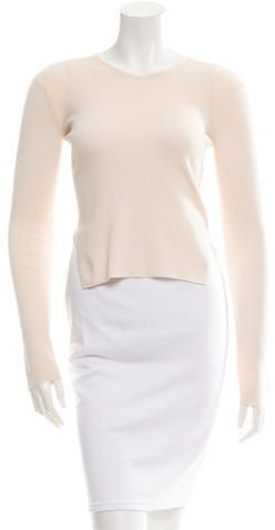 ade999c339 Theyskens  Theory Cashmere High-Low Sweater