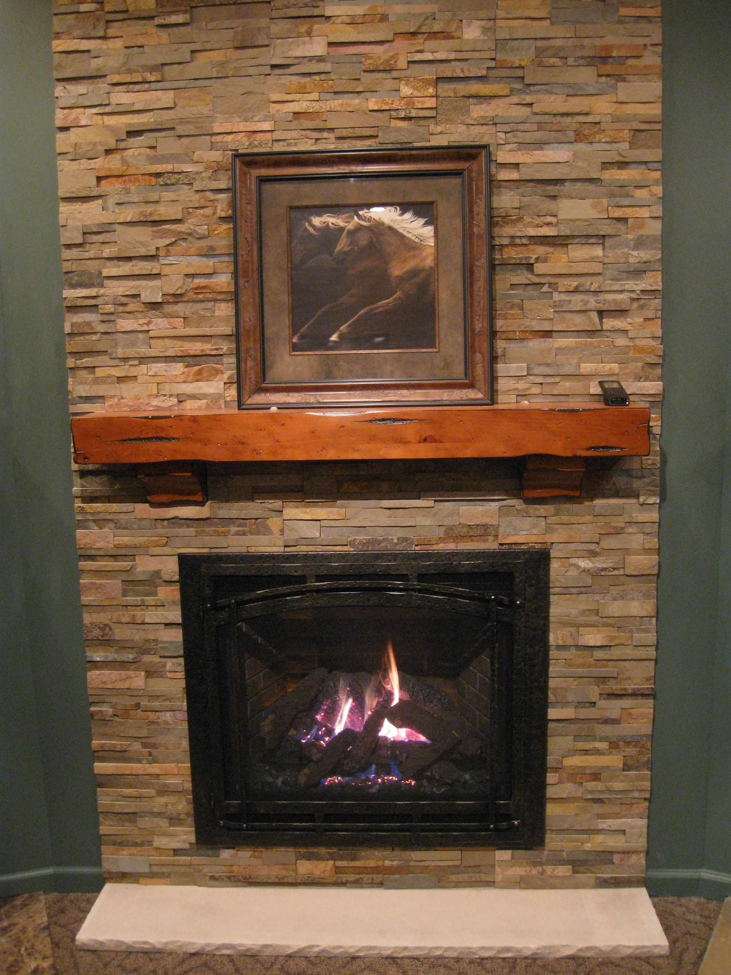 Fireplaces With Stone Surrounding Intrigue And Is A Direct Vent Gas Fireplace The Surrounding