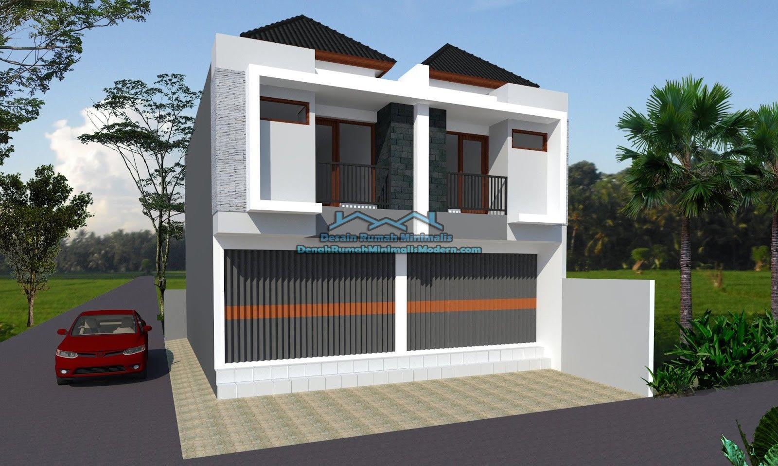 Desain Toko Minimalis Tampak Depan Cek Bahan Bangunan