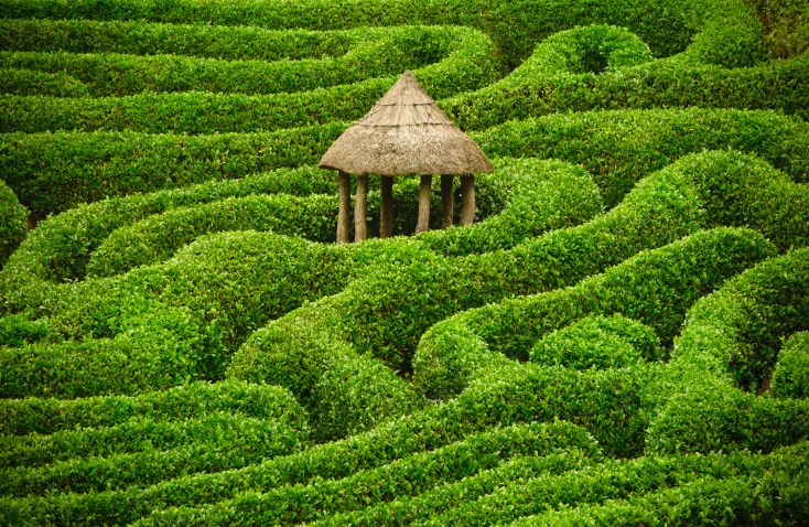 48 mind boggling hedge maze garden labyrinth designs pictures