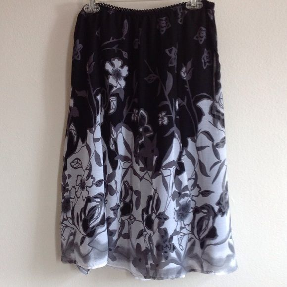 Jessica floral with lining silk skirt Jessica floral with lining skirt. Jessica Simpson Skirts