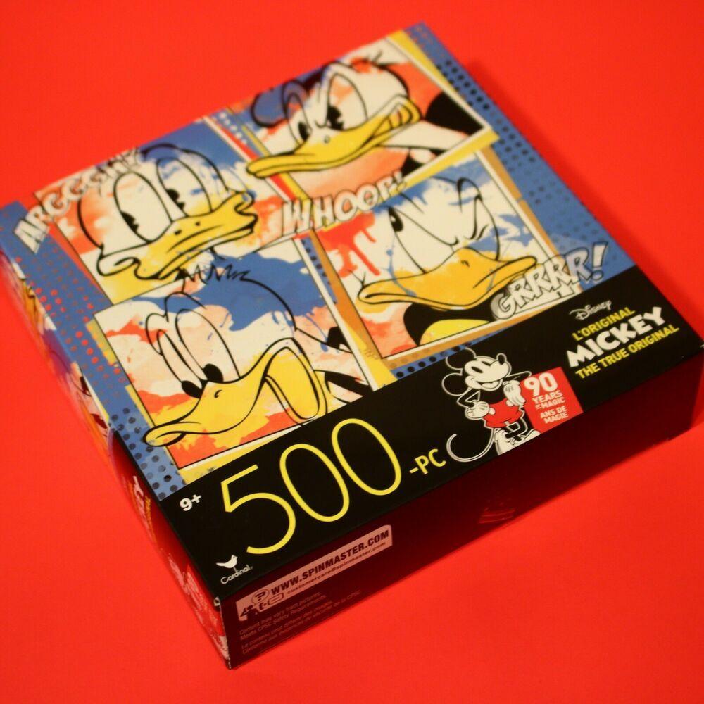 Disney---L/'Original Donald Duck  500 Piece Jigsaw Puzzle--Cardinal