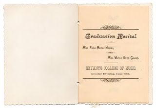 The Vintage Moth Vintage Graduation Program  Everything