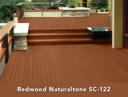 Behr S Redwood Naturaltone Sc 122 Use Deckover Product On All Decking And Fascia Use The Same Tint In A So