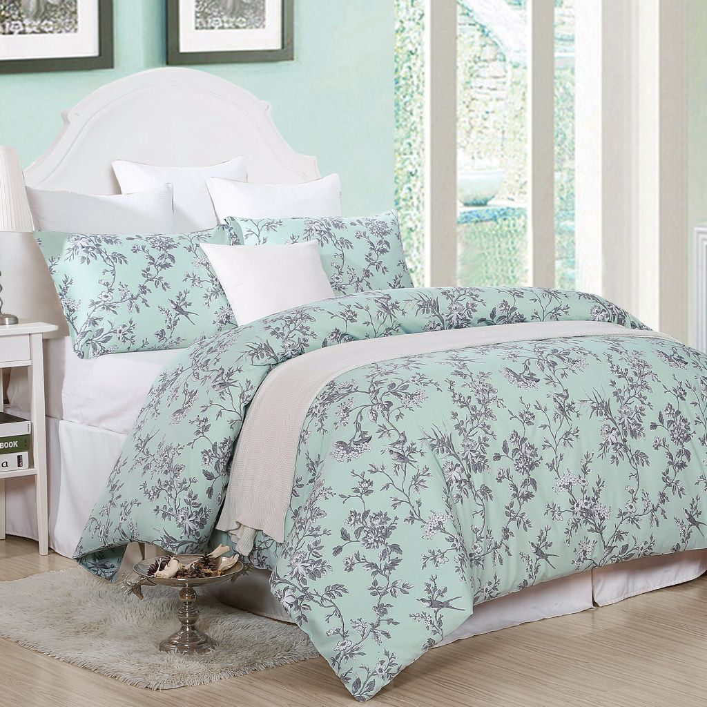 Toile Duvet Cover Portico Duvet Cover Set A Classic Toile Floral With
