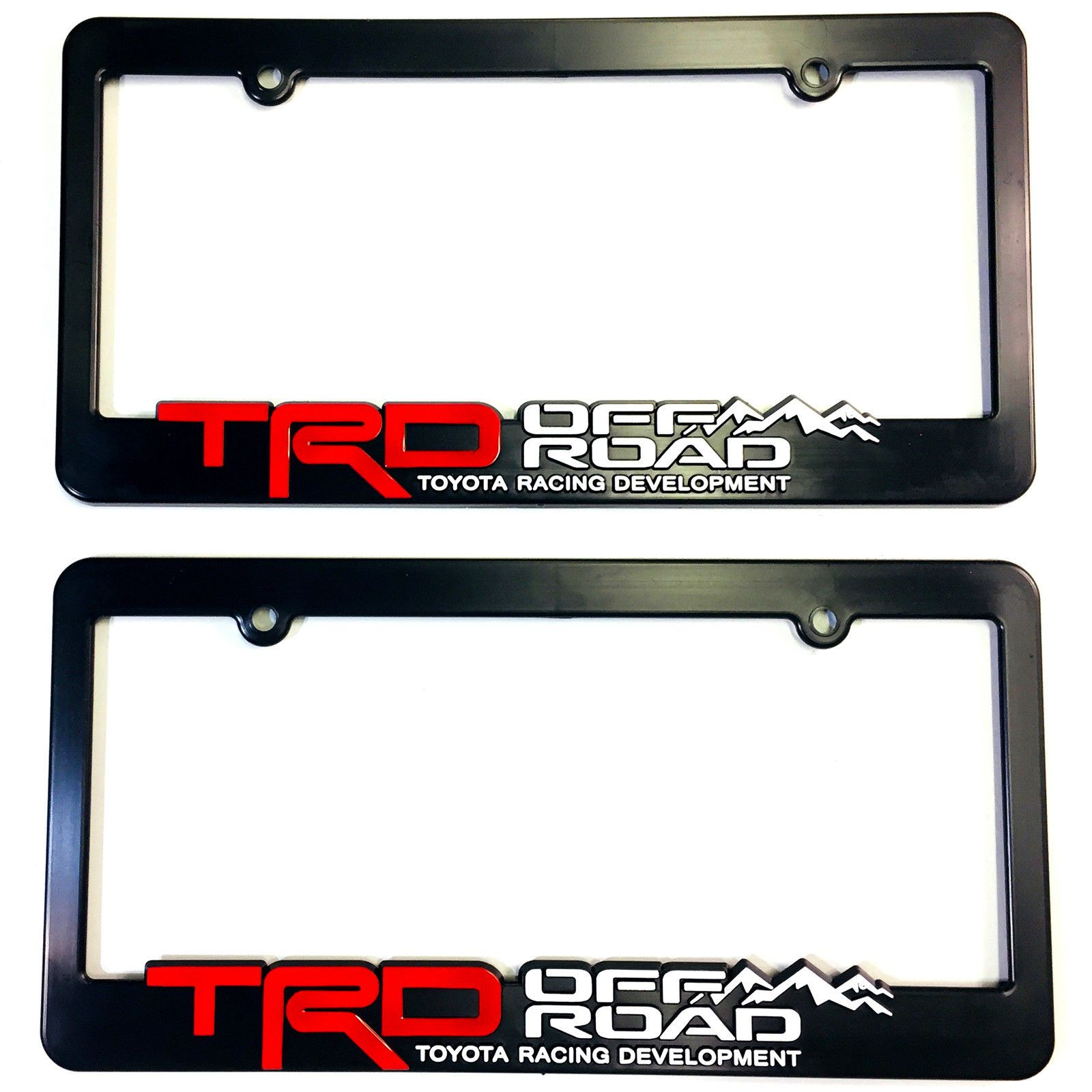 Awesome Great 2 TRD OFF ROAD Toyota Racing Development License Plate Frames  3D Letters, Trucks 2017 2018 | Cars | Pinterest | Toyota Racing  Development, ...