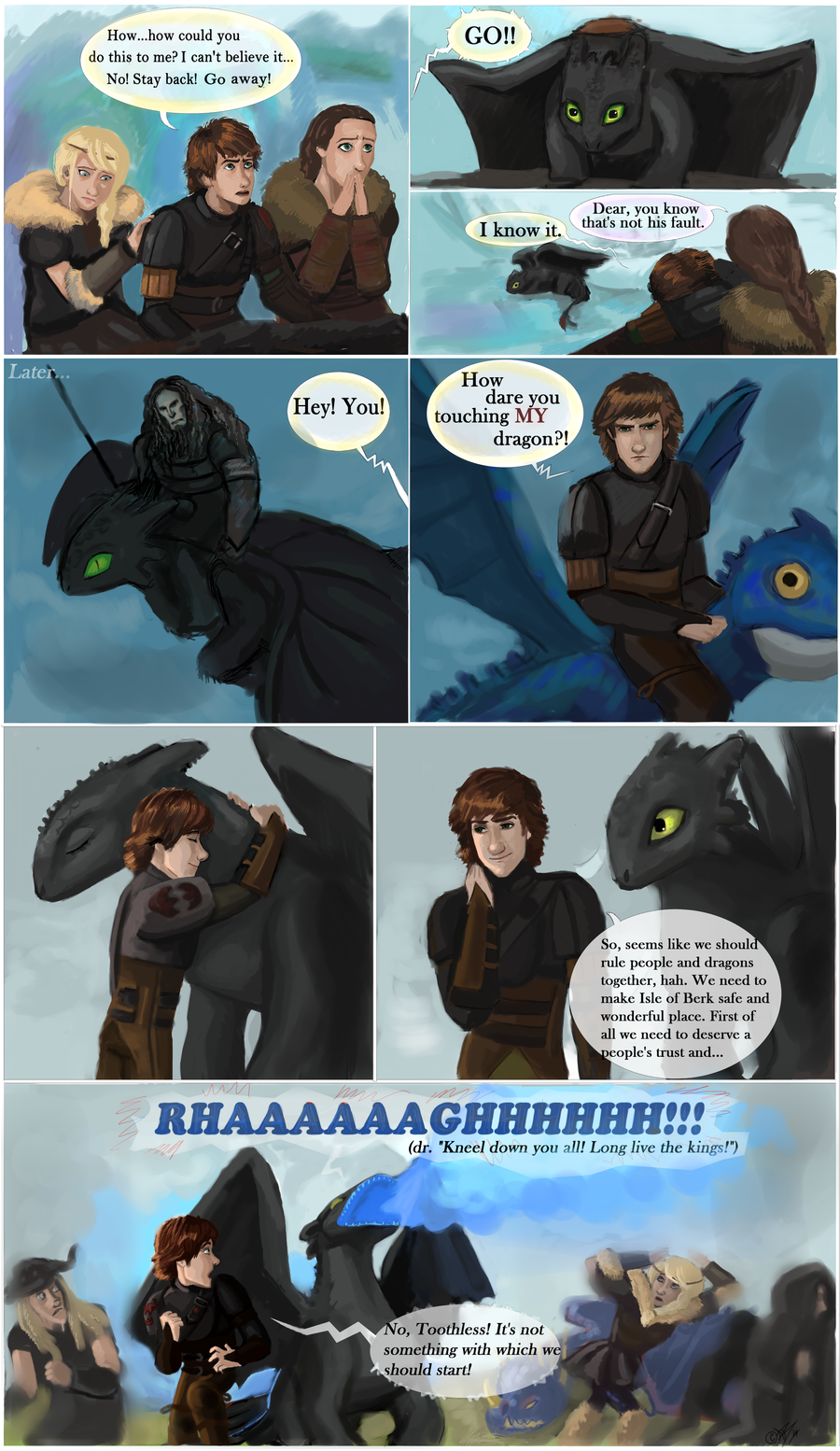 Another end of HTTYD 2 by DreamyArtistRoxy3.deviantart.com ...