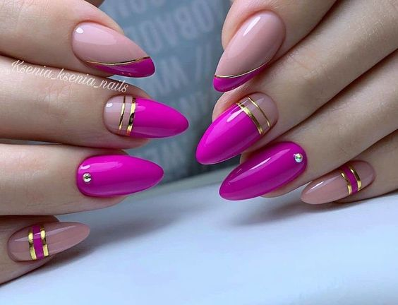 Pin by Aneta P on paznokcie na codzień | Stiletto nails