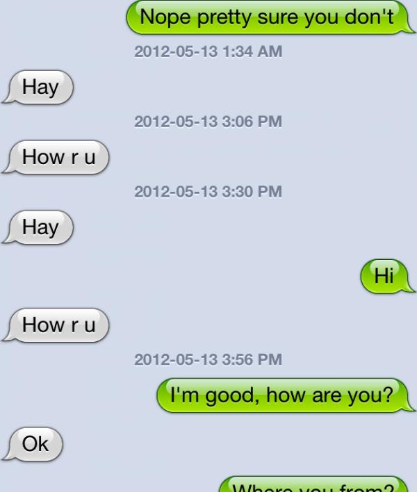 flirting signs on facebook videos iphone