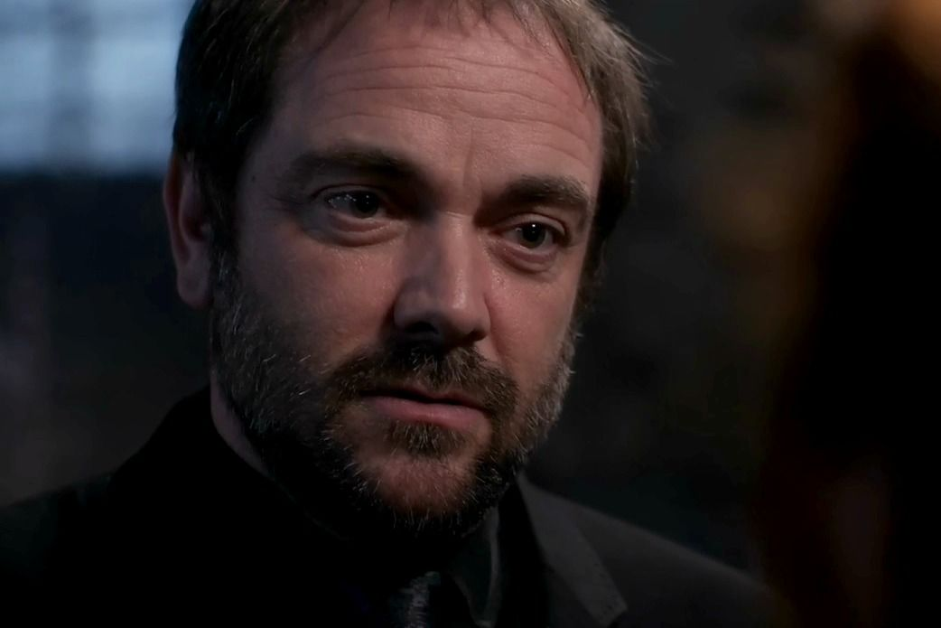Crowley | Mark Sheppard | Supernatural fans, Supernatural, Mark sheppard