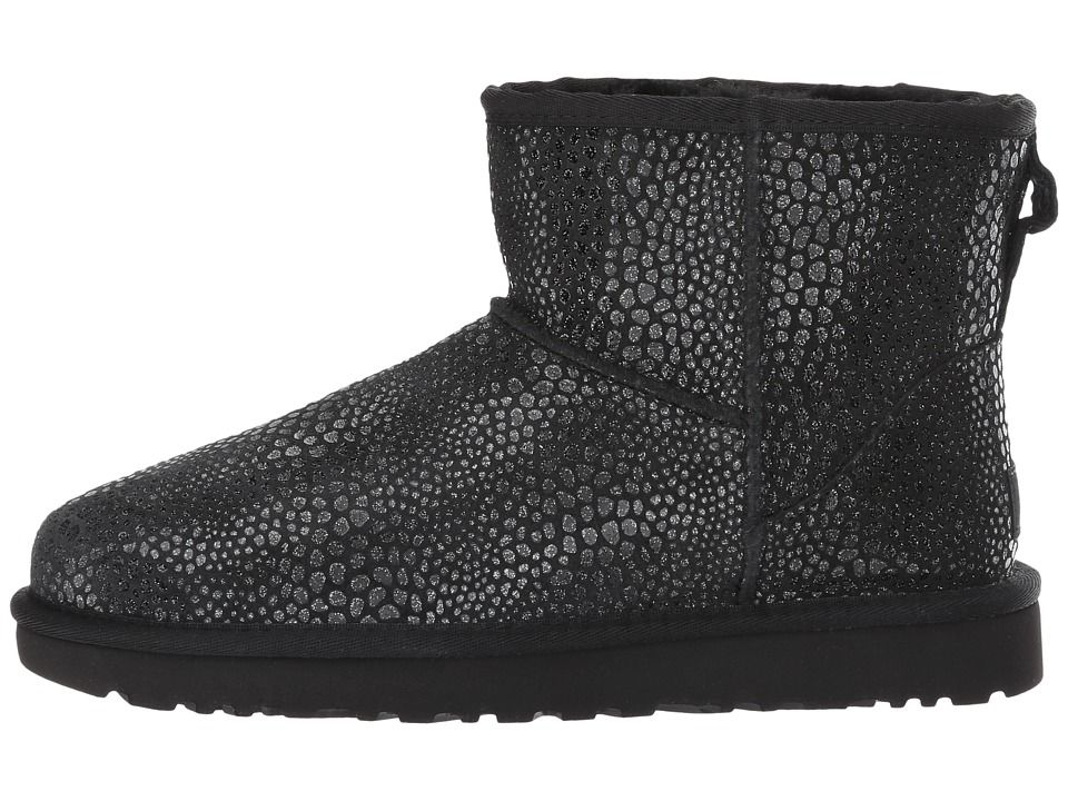6acd1a06c4d UGG Classic Mini Glitzy Women's Cold Weather Boots Black   Products ...