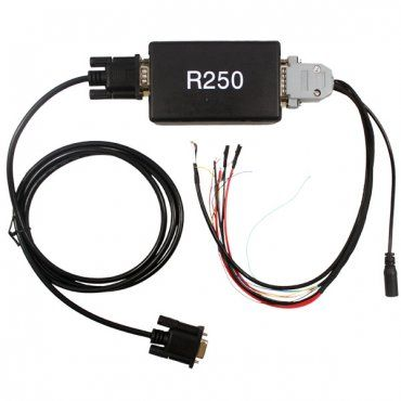 R250 VW Audi Dashboard Programmer's main function:You can use R250 to program Siemens/VDO new cryptography system.R250 looks like a small box that needs to be connected to a PC running Win98/Me/XP