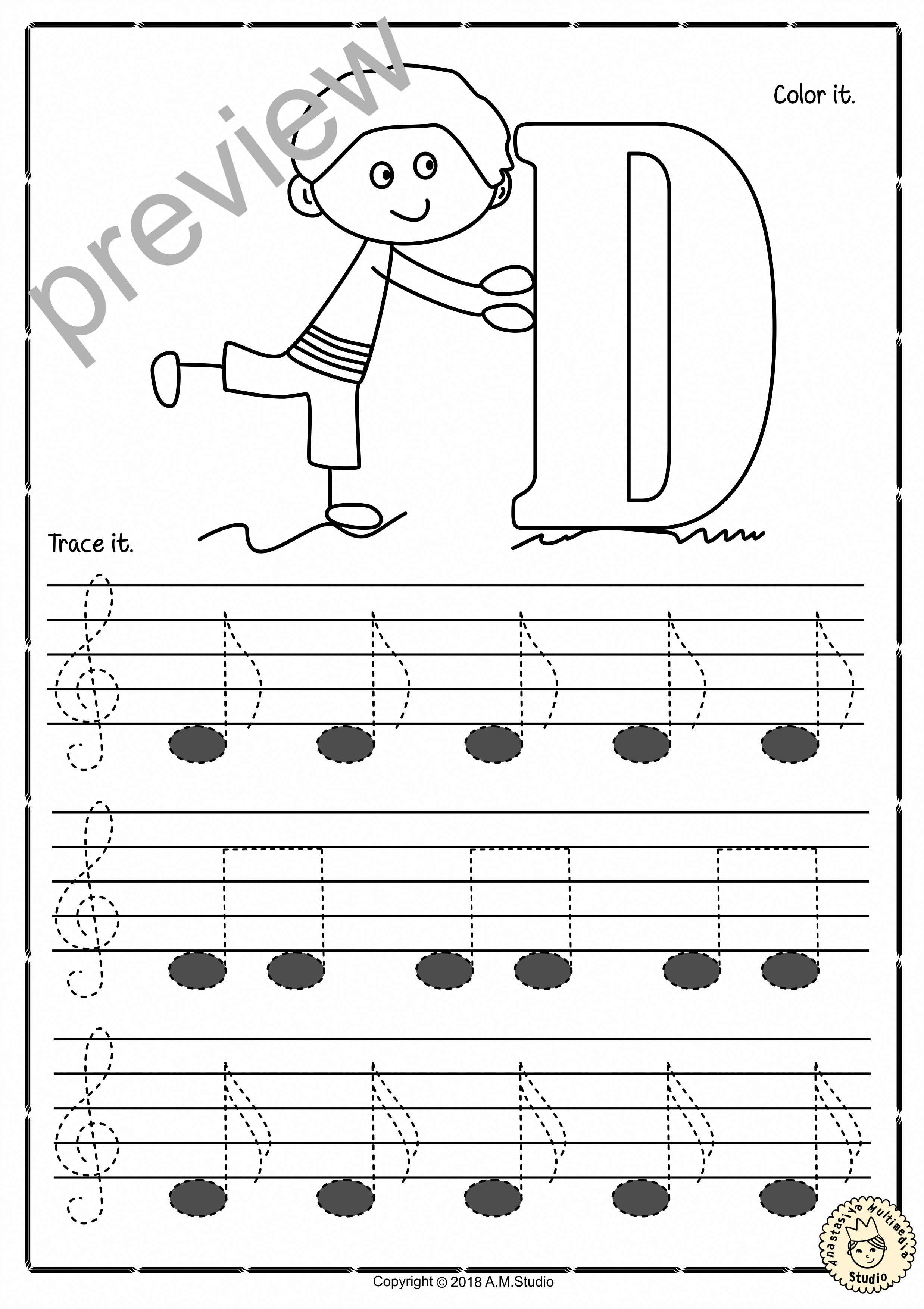 A Set Of 26 Music Worksheets Is Created To Help Your