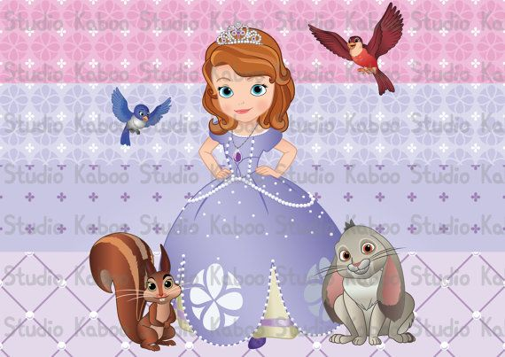 Printable Papers And Decorations Princess Sofia The First