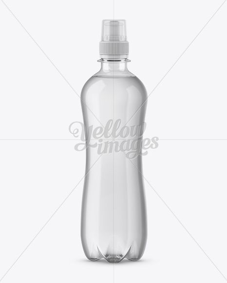 Download 500ml Clear Pet Bottle With Sport Cap Mockup In Bottle Mockups On Yellow Images Object Mockups Pet Bottle Bottle Mockup Mockup Free Psd
